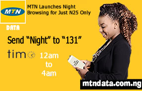 MTN FREE MIDNIGHT BROWSING FOR JUST N25 Updated ⋆ Donwapz Tech Blog