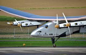 World's sun powered plane