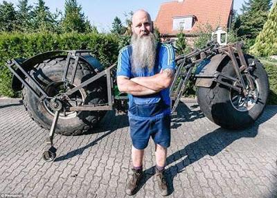 World's heaviest bicycle DONWAPZ.COM