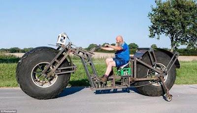 World's heaviest bicycle