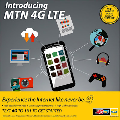 mtn launches 4g lte