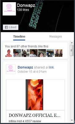 How to add Facebook page plugin with timeline, events and messages to your blog-donwapz.com