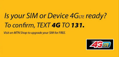 How to check if your sim and device is 4G ready on MTN