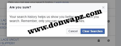 How to delete all your Facebook search history at once