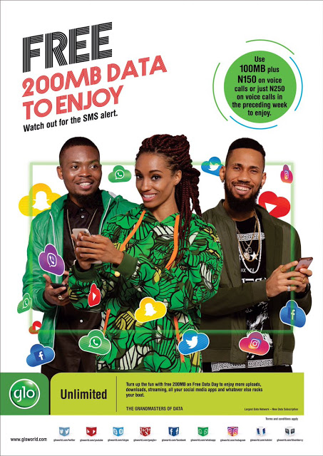 How to get free 200MB data from GLO
