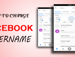 How to change Facebook Username on Messenger app